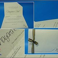 Convite de Casamento cód. 001