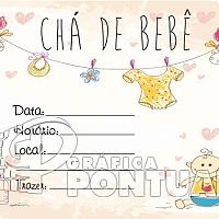 Convite Infantil Cód. 022