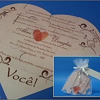 Convite de Casamento cód. 023