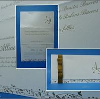Convite de Casamento cód. 024