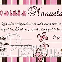 Convite Infantil Cód. 024
