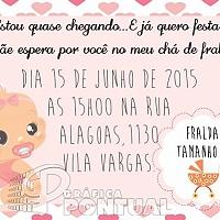Convite Infantil Cód. 028
