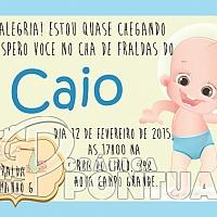 Convite Infantil Cód. 029