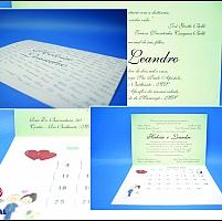 Convite de Casamento cód. 003