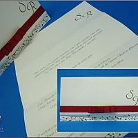 Convite de Casamento cód. 030