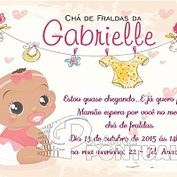 Convite Infantil Cód. 030