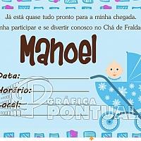 Convite Infantil Cód. 035