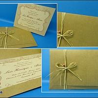 Convite de Casamento cód. 040