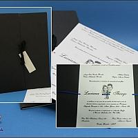 Convite de Casamento cód. 041