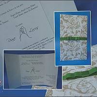 Convite de Casamento cód. 006