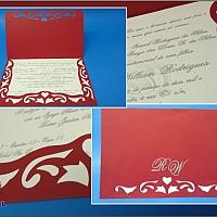 Convite de Casamento cód. 078