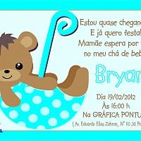 Convite Infantil Cód. 007