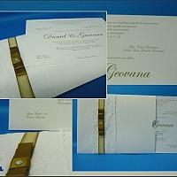 Convite de Casamento cód. 081
