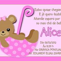 Convite Infantil Cód. 008