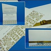 Convite de Casamento cód. 090