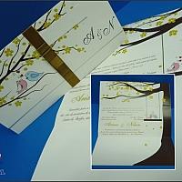 Convite de Casamento cód. 091