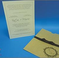 Convite de Casamento Cód. 097