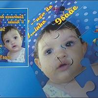 Convite Infantil Cód. 009