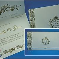 Convite de Casamento cód. 087