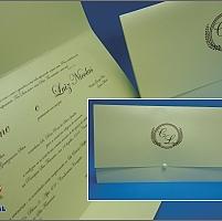 Convite de Casamento Cód. 093