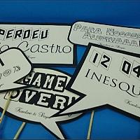 Placa de frases